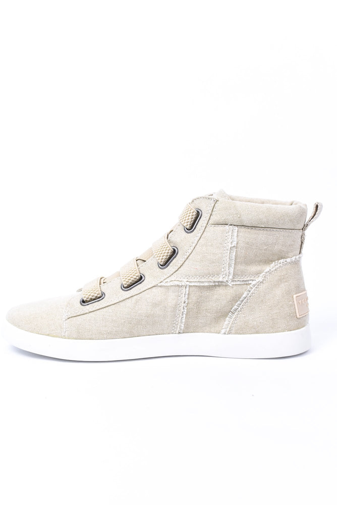Easy Street Taupe Slip On Sneakers - SHO1890TA
