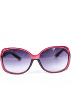 Berry Lens/Black Ombre Lens Sunglasses - SGL275BE - FREE hard case