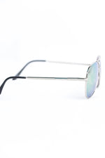 Silver Frame/Yellow Lens Aviator Sunglasses - SGL269SI - FREE hard case