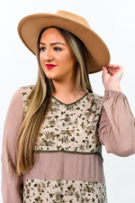 Tan Fedora Hat - HAT1193TN