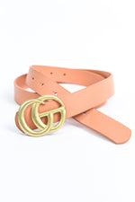 Clay/Antique Gold Belt - BLT1135CY