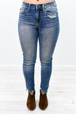 Denim Blues Medium Denim Jeans - K594DN