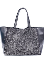 Express Yourself Black Star Bling 2-In-1 Bag - BAG1467BK