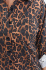 No One But You Amber Leopard Top - B10619AM