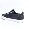 Expressive Looks Black Slip On Sneakers - SHO1719BK