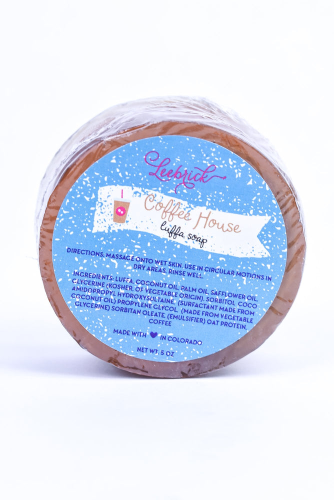 Coffee House Luffa Soap - BTY222
