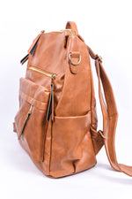 Strut Your Stuff Brown Convertible Backpack - BAG1528BR
