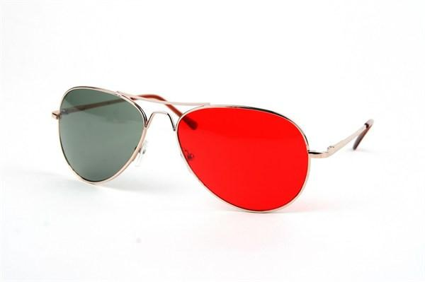Red/Green Aviator - AVI900RG - FREE hard case-Tee for the Soul