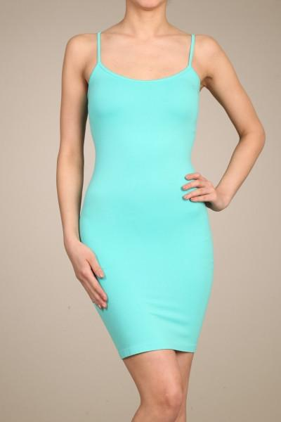 Mint Cami Slip Dress (Sizes 12-18) - SLP004MT-Tee for the Soul