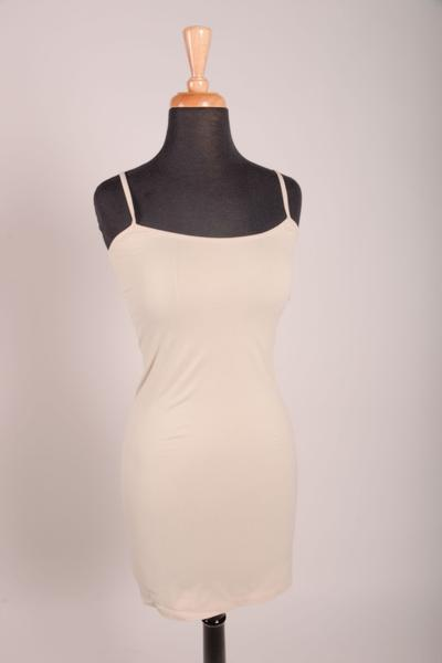 Oyster Cami Slip Dress (Sizes 4-12) - CAM011OY