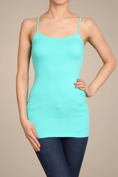 Mint Basic Seamless Cami (Sizes 12-18) - CAM909MT
