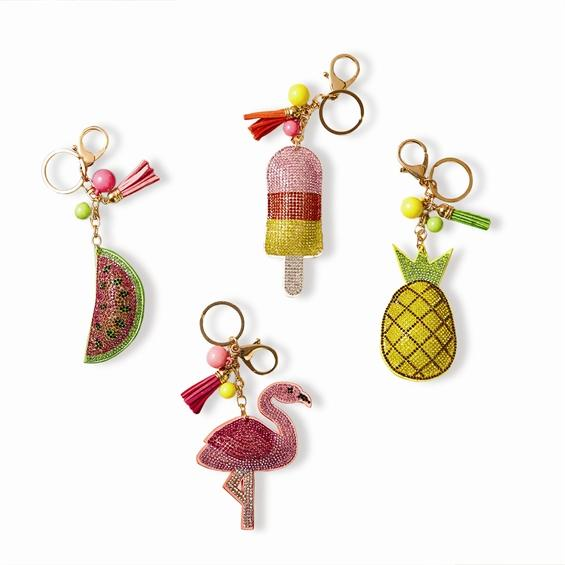 Glitter Fun In The Sun Keychains - KEY1034