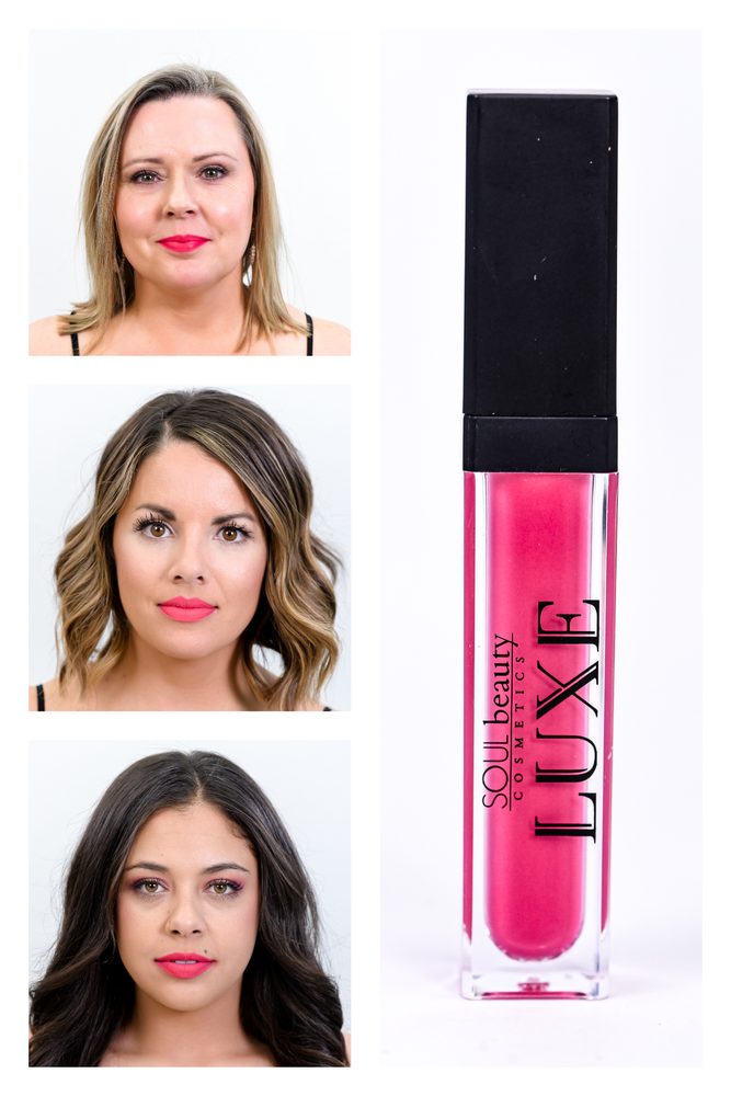 'Kitty' Hot Pink Matte Liquid Lipstick 08 - LUX007