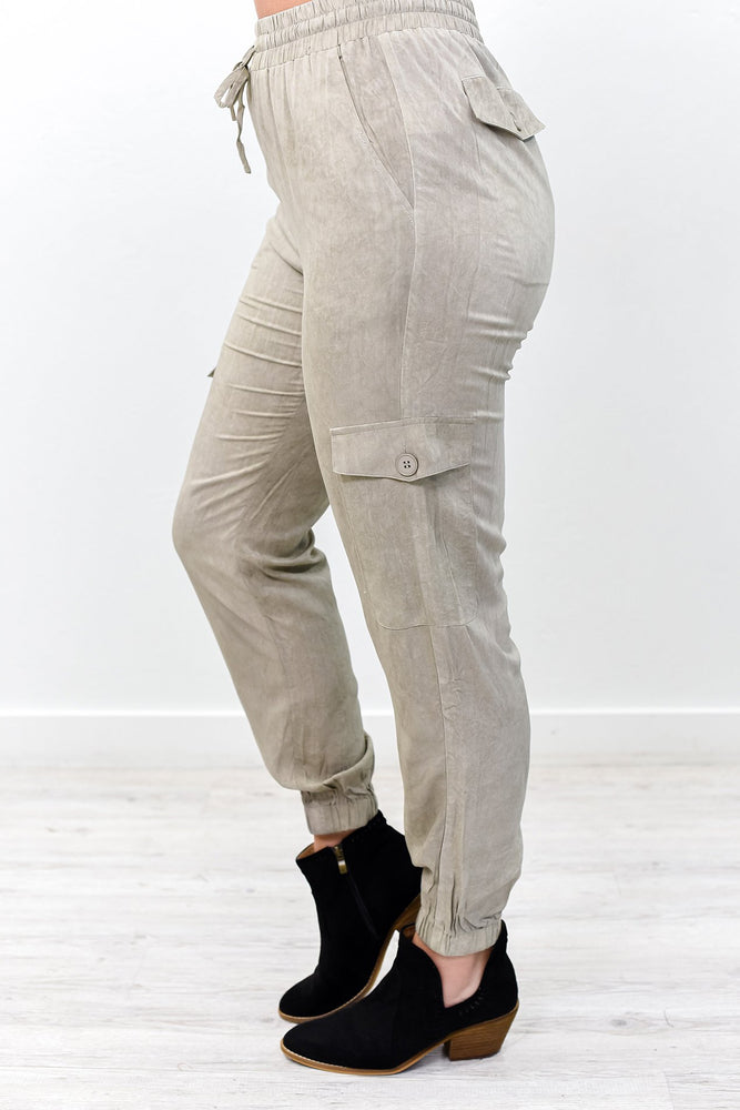 You Are Too Great For Small Dreams Khaki Pants - PNT1159KH