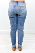 It's A Revolution Medium Denim Jeans - K494DN