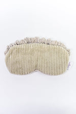 Warm Gray Fuzzy Therapeutic Eye Mask - BTY053WGR