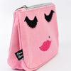 Pink Face Makeup Bag - MUB932PK