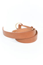 Cognac/Gold Regular Belt - BLT1128CGN
