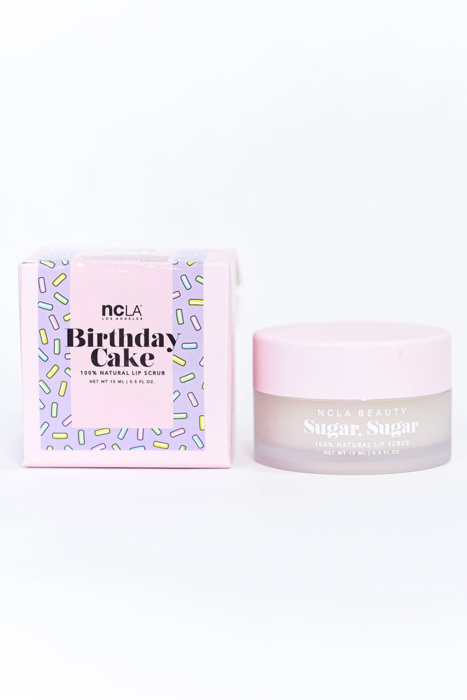 Sugar Sugar Birthday Cake Lip Scrub - BTY061