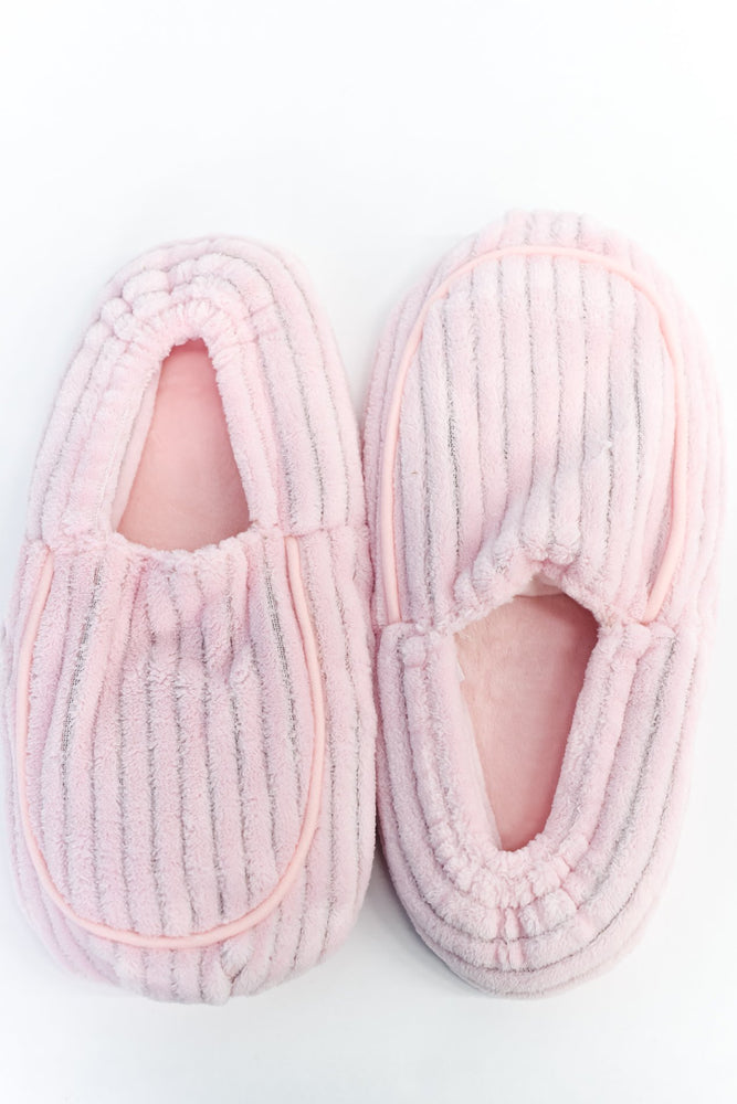 Pink Microwavable Slippers - BTY079PK