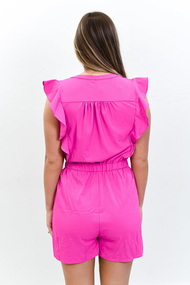 Every Day Go To Magenta Romper - RMP429MG