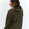 Just Like Me Olive Hooded Top - B10699OL