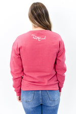 Be Pretty Vintage Red Graphic Sweatshirt - A1111VRD