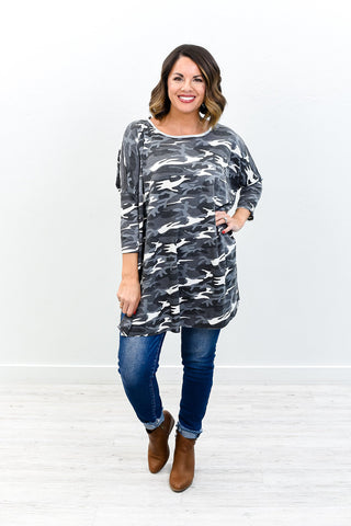 We Belong Together Multi Print Dress - D152RD-Tee for the Soul