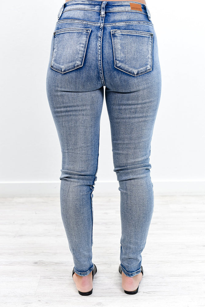 The Search Is Over Light Denim Jeans - K503DN
