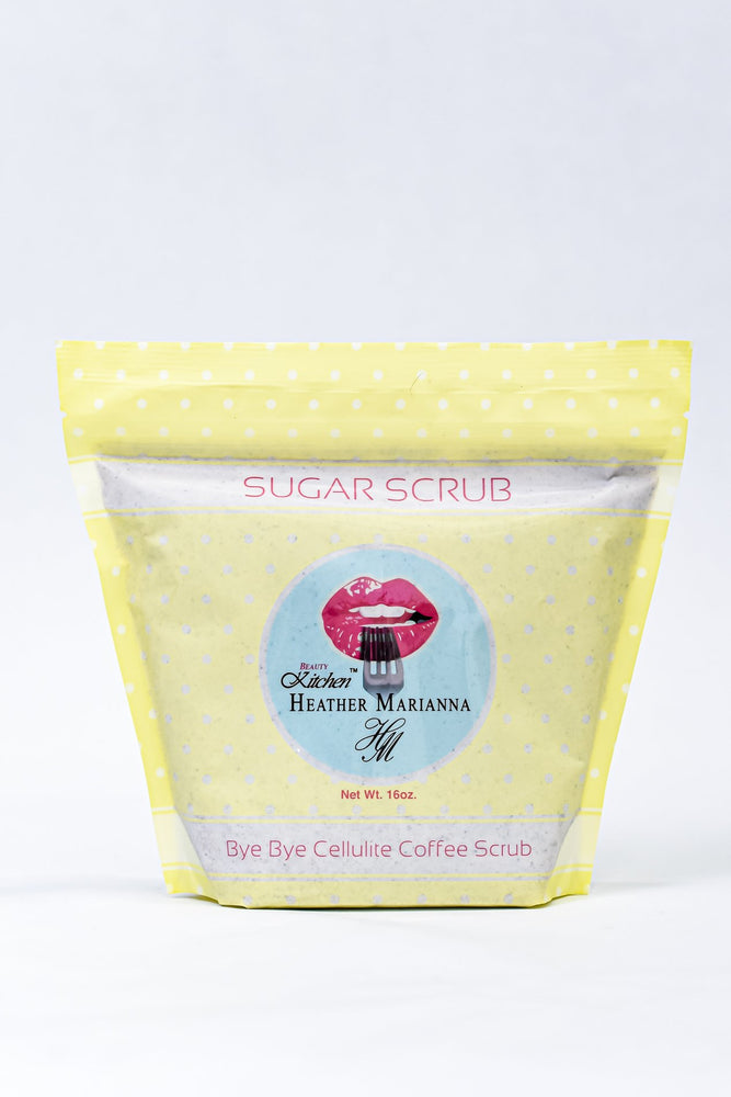 Bye Bye Cellulite Coffee Sugar Scrub - BTY105