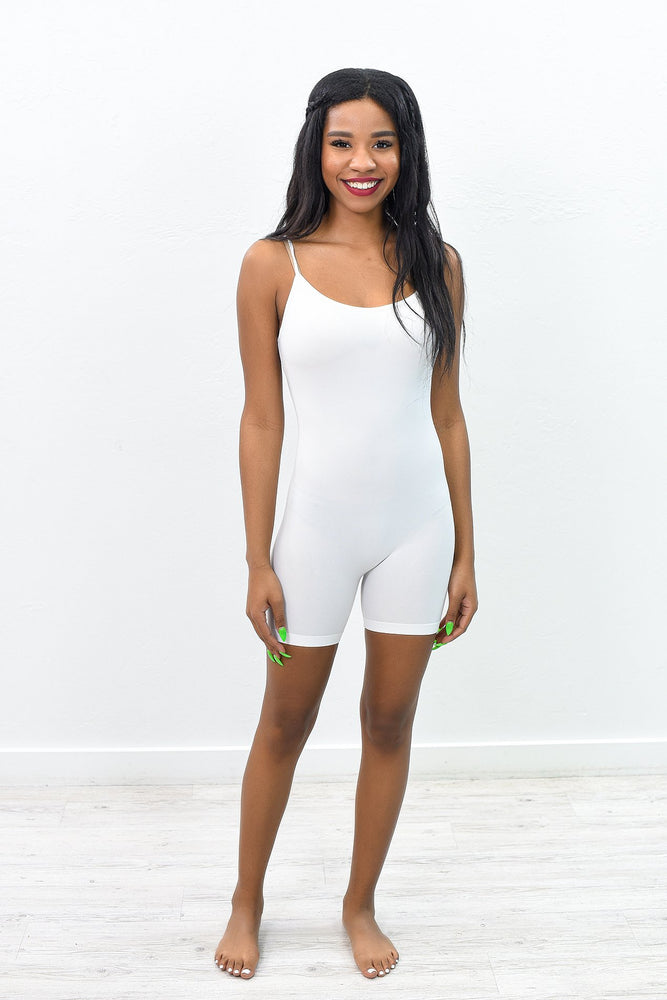 White Body Suit - BDS1019WH