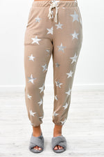 Dreaming With The Stars Mocha Joggers - PNT1145MO