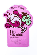 Pore Care Red Wine Mask Sheet - SM006