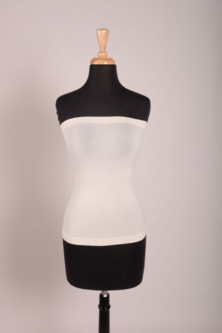 Black Tube Slip Dress-SLP444BK