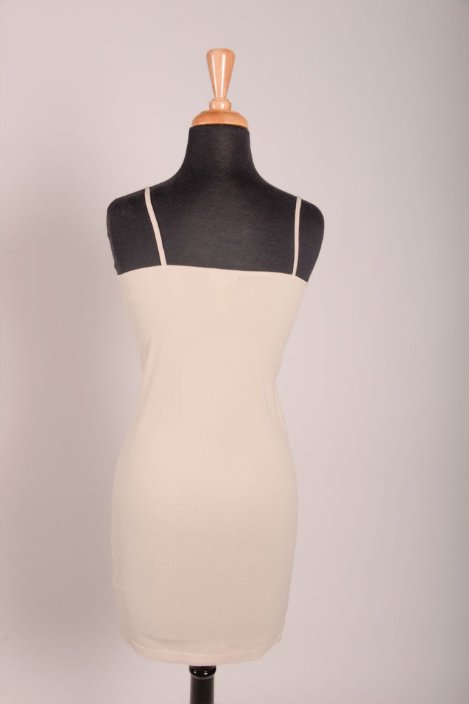 Oyster Cami Slip Dress (Sizes 12-18) - SLP004OY-theukayqueen