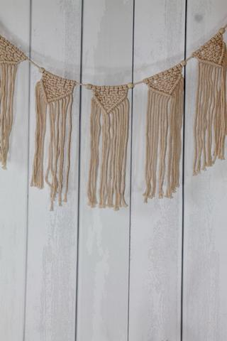 Natural Macrame Garland - HME103