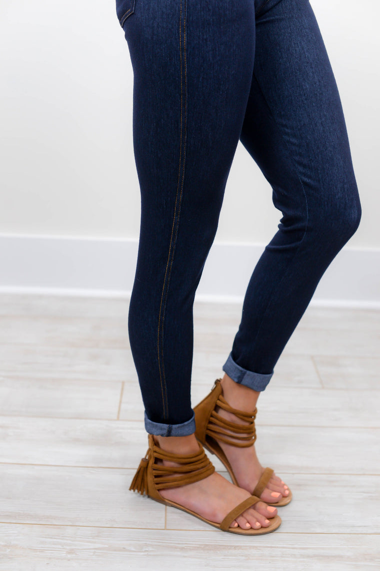 Dark Denim Jeggings - JEG100DM