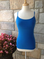 Royal Blue Regular Cami - CAM444RB-theukayqueen
