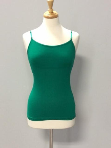 Kelly Green Regular Cami - CAM444KG-Tee for the Soul