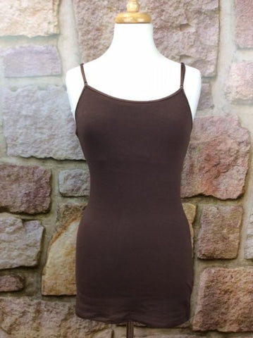 Brown Tunic Cami - CAM445BR