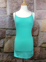 Mint Tunic Cami - CAM445MT-theukayqueen