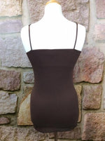 Brown Tunic Cami - CAM445BR-theukayqueen