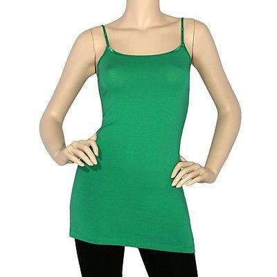 Kelly Green Tunic Cami - CAM445KG-Tee for the Soul