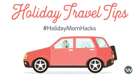 Holiday Mom Hacks | Traveling with Kids