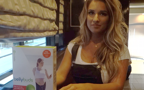 Jessie James Decker Uses BellyBuds to Play Music to Baby-to-be