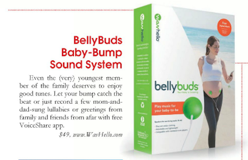 BellyBuds Appears in Parenting OC Magazine
