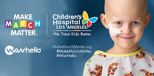 WavHello Gives Back to Children's Hospital Los Angeles