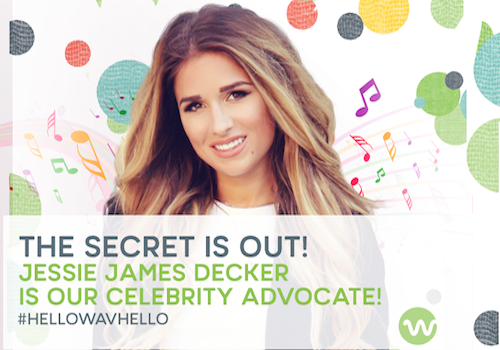 Country Star Jessie James Decker is Our Celebrity Advocate!
