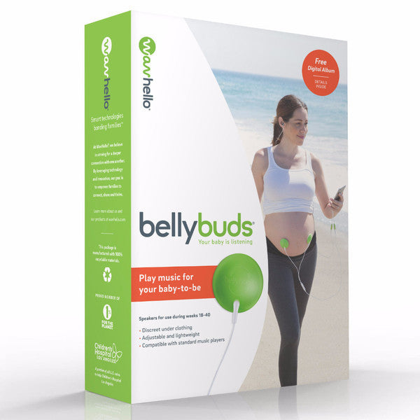 HelloBee.com | Must-have  Product for a Surrogacy Pregnancy: BellyBuds