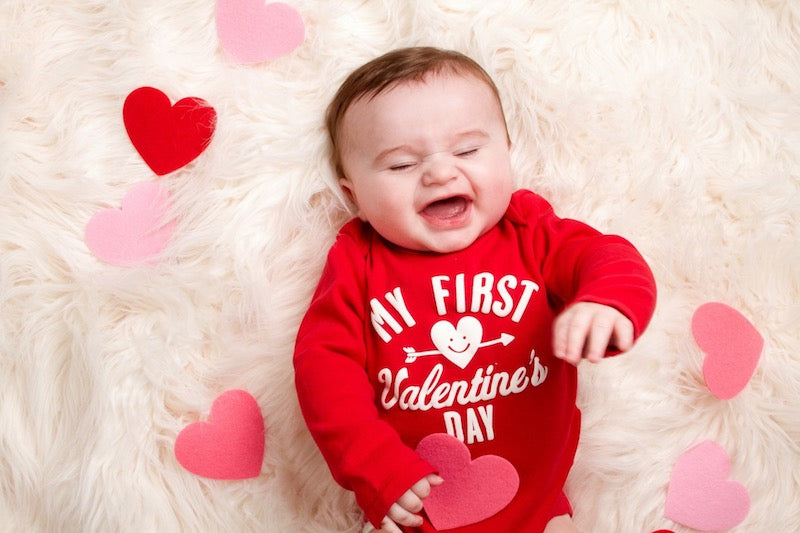 Top 10 Valentine's Day Baby & Toddler Photo Ideas!